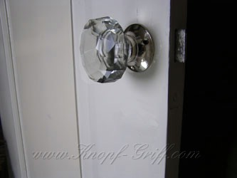 Glas doorhandle